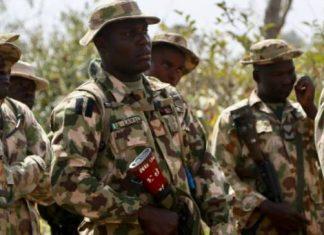 Bomb Blast Kills Four Soldiers