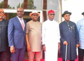 South-South Governors To Set Up A Security Outfit