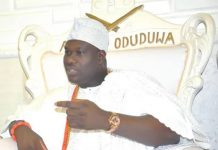 COVID-19: Ooni Shuts Palace