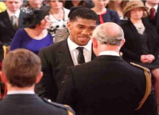 COVID-19: World champion Anthony Joshua in self-isolation after meeting Prince Charles
