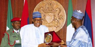 BREAKING: Buhari, Nasarawa Gov In Closed Door Meeting