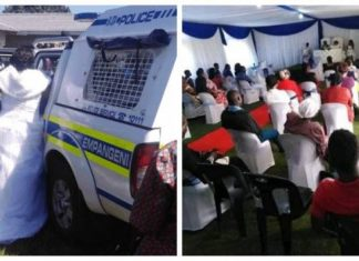 Coronavirus: South African Bride, Groom Arrested Over Lockdown Wedding