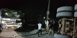 Dangote Truck Crushes 6 To Death In Lagos