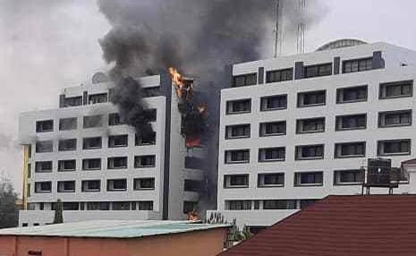 Accountant-General's office in Abuja Goes Up In Flames
