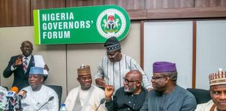 COVID-19: Governors Demand Urgent Fiscal Measures To Safeguard States' Liquidity
