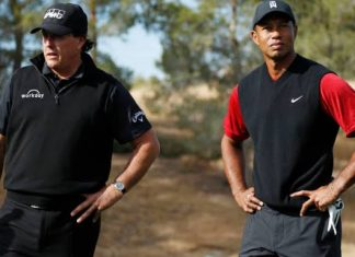 Woods, Mickelson To Play Coronavirus Relief Golf Match With American Football Stars