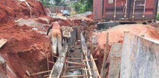 FLOOD: Okonji Constructs Multi-Million Naira Drainage In Okpanam