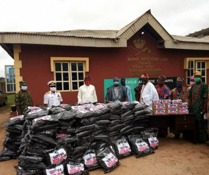 Navy Reaches Out To Households In Ogun Community
