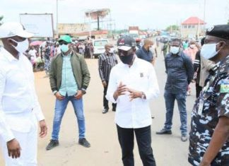 Inter-State Lockdown: Okowa Monitors Compliance, Warns Violators