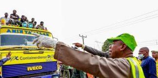Lockdown: Police Arrest 413 Violators, Impound 98 Vehicles In Kano