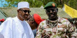 Buhari Commiserates With Buratai, Over Mothers Death