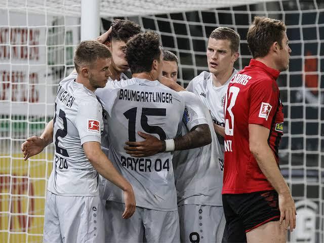 Havertz Goal Gives Bayer Leverkusen 1-0 Win At Freiburg