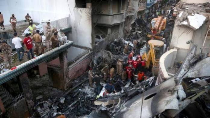 97 Deaths, 2 Survivours Confirmed In Crashed Plane