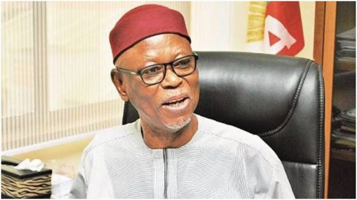 Edo Election: Oyegun Warns Against Meddlesome 'Persons,' Declares Support For Obaseki