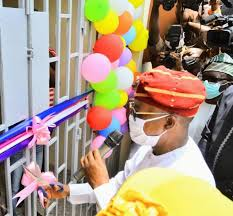 COVID-19: Oyetola Commissions 160-Bed Isolation Centre In Osogbo