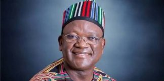 Labour Day: Ortom Commends Benue Workers For Their Support, Patriotism