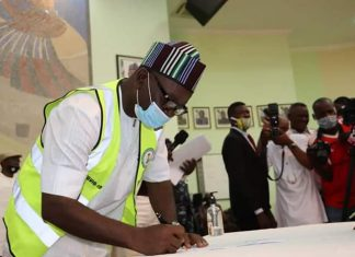 Ortom Inaugurates 23 LG Chairmen, Tasks Them On Security
