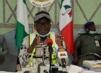 Benue Relaxes COVID-19 Measures, Opens Markets, Worship Centers, Schools Remain Closed