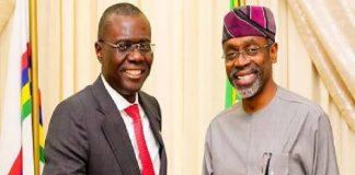 Gbajabiamila Felicitates With Sanwo-Olu At 55