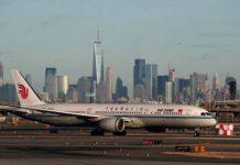 US Bars Passenger Flights From China