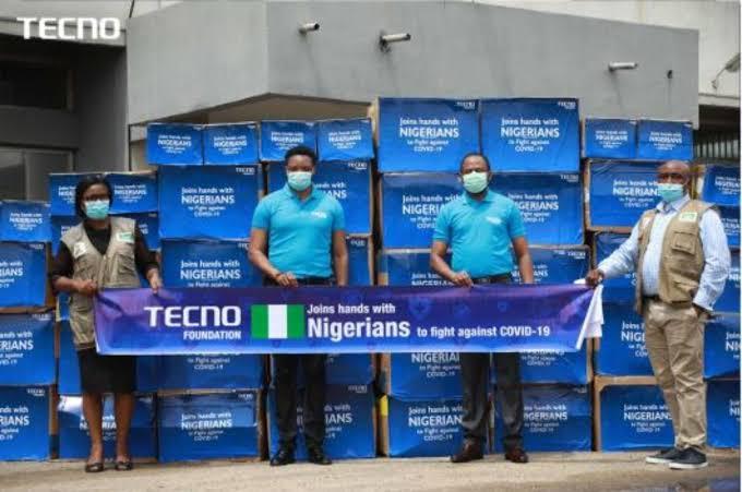 COVID-19 : TECNO Foundation Donates Medical Supplies To NCDC