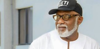 BREAKING: Ondo Governor, Akeredolu, Tests positive For COVID-19