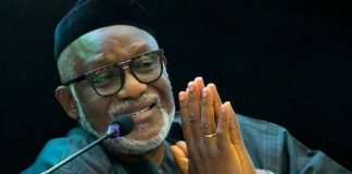 I Never Ordered CP To Bar My Deputy From Govt House – Akeredolu