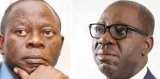 EXCLUSIVE: Oshiomhole To Disqualify Obaseki From Participating In APC Governorship Primary