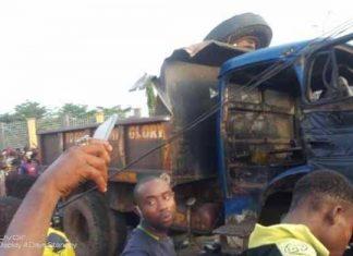2 Dead as Tipper Rams into Crowd in Onitsha