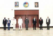 Okowa Swears In New Permanent Secretaries, Calls For Leadership By Example