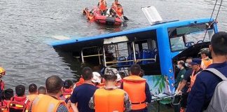 Bus Plunges Into Reservoir, Killing 21