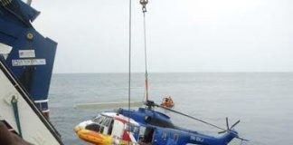 Two BodiesRecovered From Crashed Helicopter