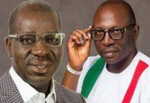 Edo 2020: Obaseki, Ize-Iyamu In Mudslinging Campaign