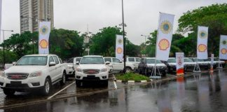 Shell Boosts Lagos Security Apparatus With 16 Vehicles