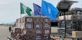 COVID-19: FG Takes Delivery Of Medical Supplies From EU, UN
