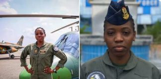 NAF Reveals How Nigeria's First Female Combat Helicopter Pilot Was Killed