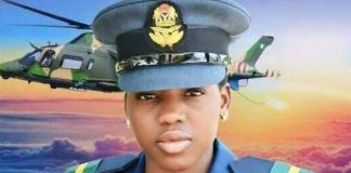 JUST IN: Tears, Tributes As Heroic Combat Pilot Arotile Is Buried With Full Military Honours