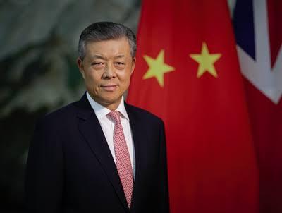 Chinese Ambassador Condemns London's Stance On Hong Kong