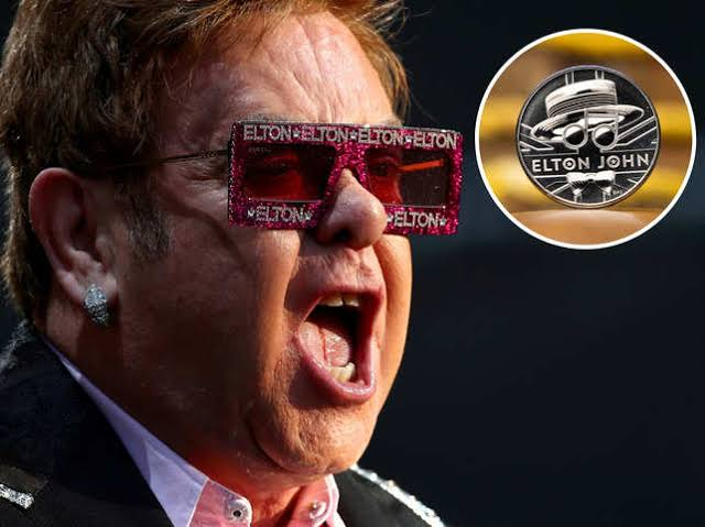 Elton John Becomes 2nd Artist To Be Honoured With Commemorative Coin By Royal Mint