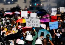Seattle Protest: Police, Anti-racism Demonstrators Clash At March