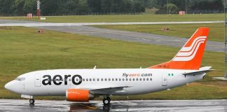 Passenger Sneezing On Plane'll Be Isolated –Aero Contractors
