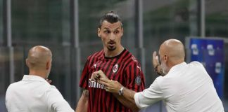 AC Milan Coach Brushes Off Ibrahimovic's Angry Reaction To Substitution