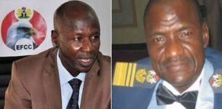 Breaking: Buhari Suspends EFCC Boss Magu, Appoints Umar To Act