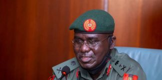 Buratai Visits Wounded Soldiers In Hospital, Says Their Efforts Have Made Nigeria Safer