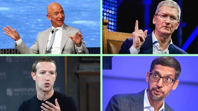 Apple, Amazon, Facebook, Google Face Claims Of 'Harmful' Power