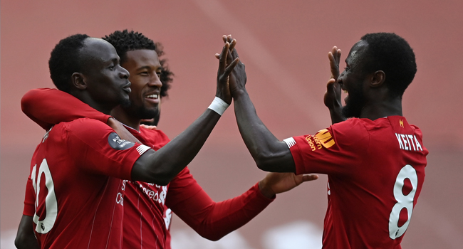 Liverpool Maintain 100 Percent Home Record After Beating Aston Villa