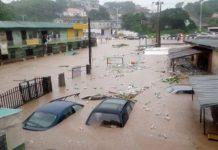 Flood Takes Over Abeokuta Roads, As Ogun River Overflows