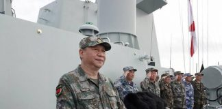 China Shoots Missiles Into South China Sea In Warning To U.S.