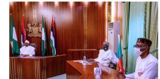 Edo 2020: Buhari Endorses Osagie Ize-Iyamu (PHOTOS)