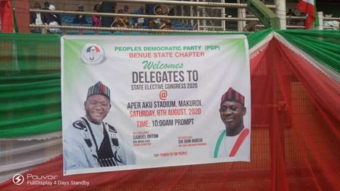 Benue PDP Holds State Congress, Passes Vote Of Confidence On Governor Ortom